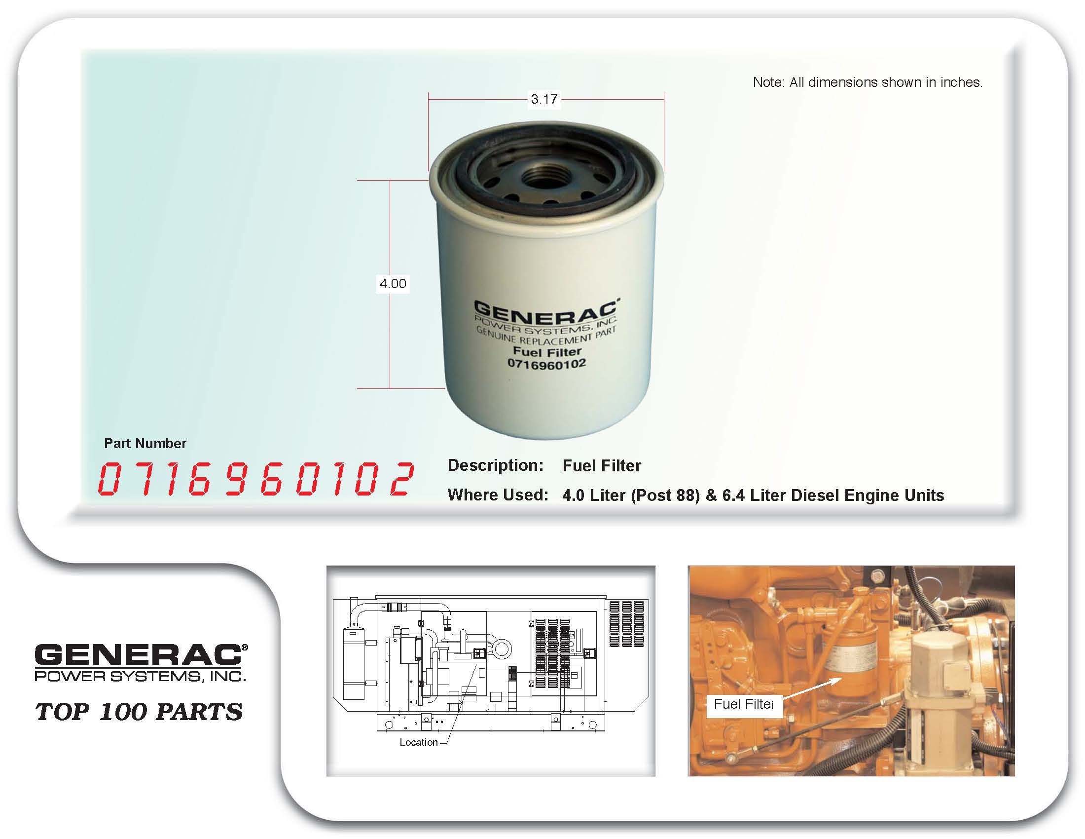 Generac Fuel Filter | Wiring Library