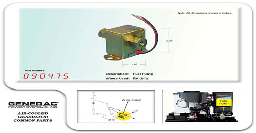 PUMP,IMPULSE - Genset Services