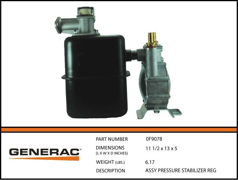 Assy Pressure Stabilizer Reg